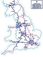 britt autó térkép
